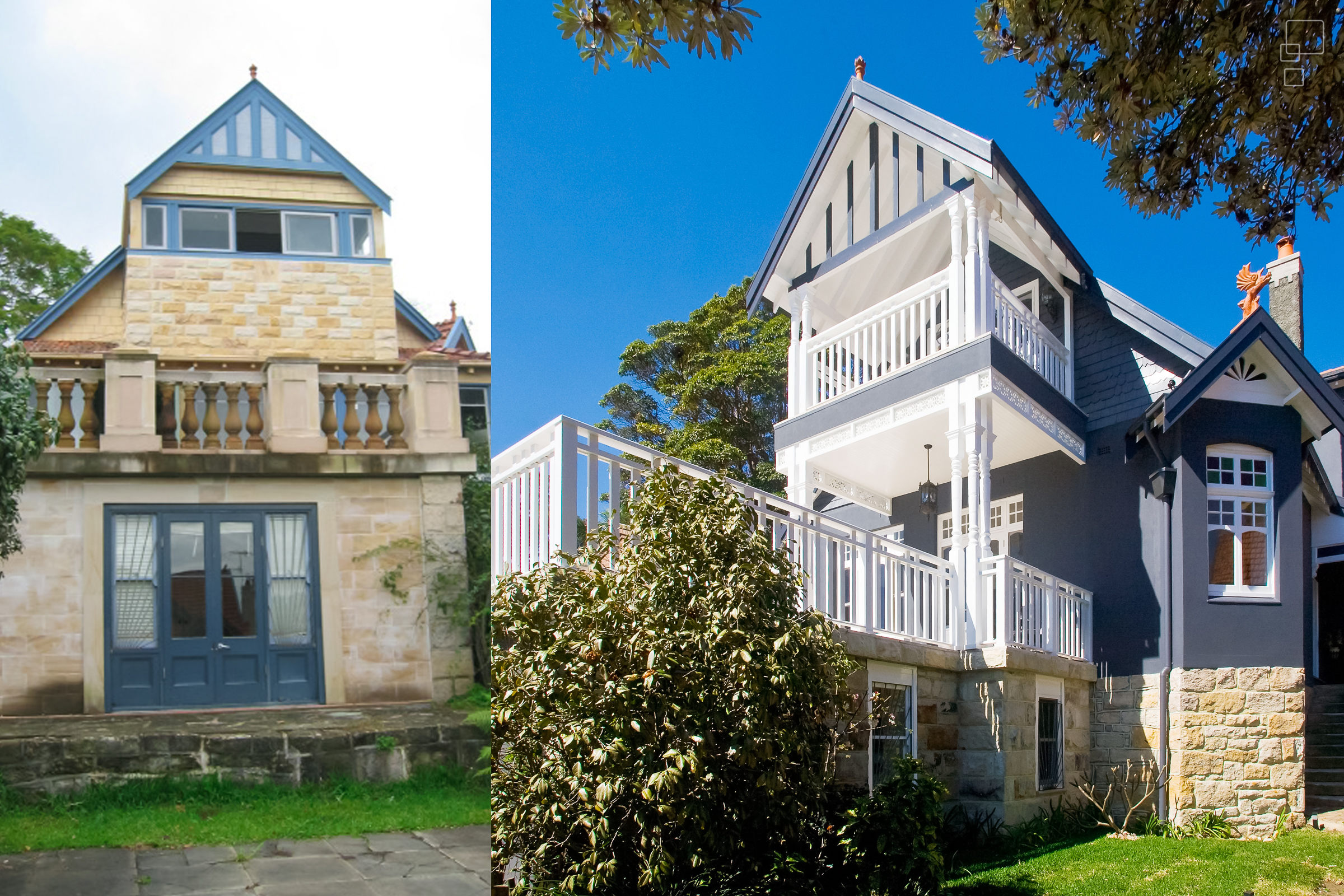 Mosman Heritage Project: Before | After